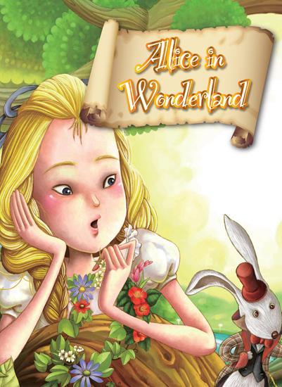 爱丽丝漫游仙境(双语书)